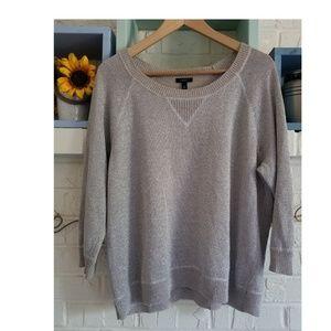Talbot silver gray sweatshirt